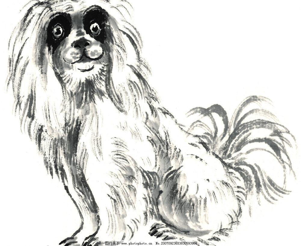 狗狗手绘系列画