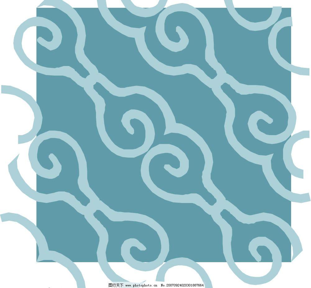四方连续图 四方 连续 四方连续 矢量 精品      底纹边框 花纹花边