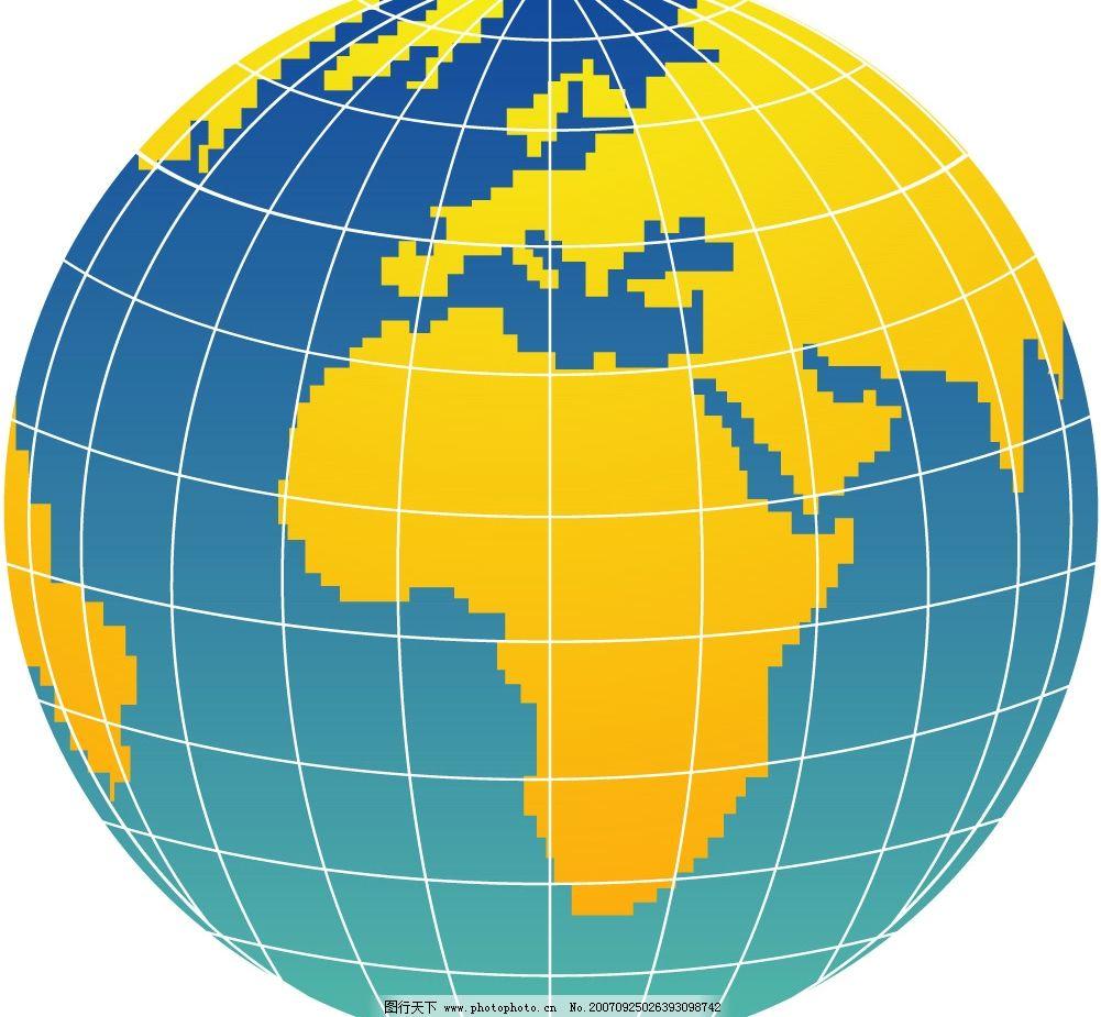 矢量地球图片