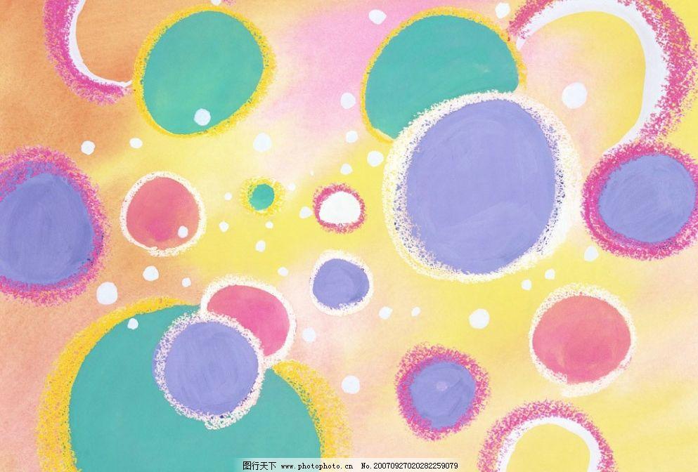 可爱手绘纹理 手绘 水彩 蜡笔 儿童 底纹边框 背景底纹 可爱手绘图案
