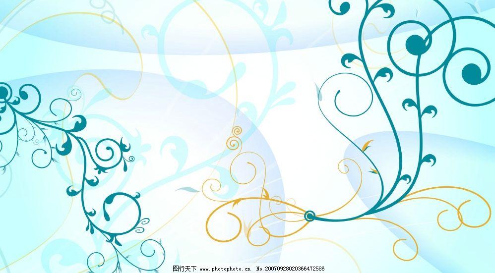 清淡感觉 底纹边框 花边花纹 清淡感觉花纹图 设计图库 72 jpg