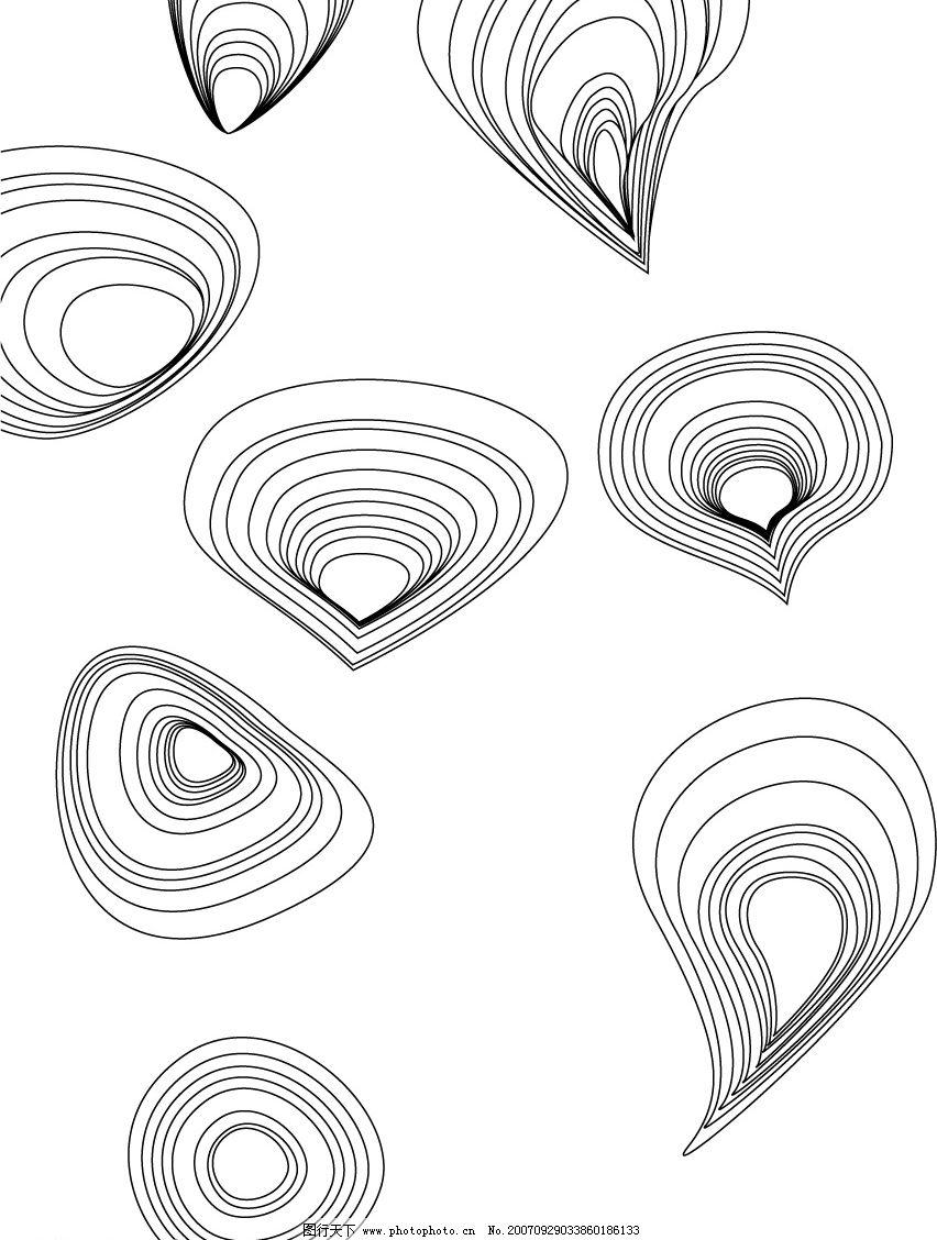 手绘几何服装系列设计