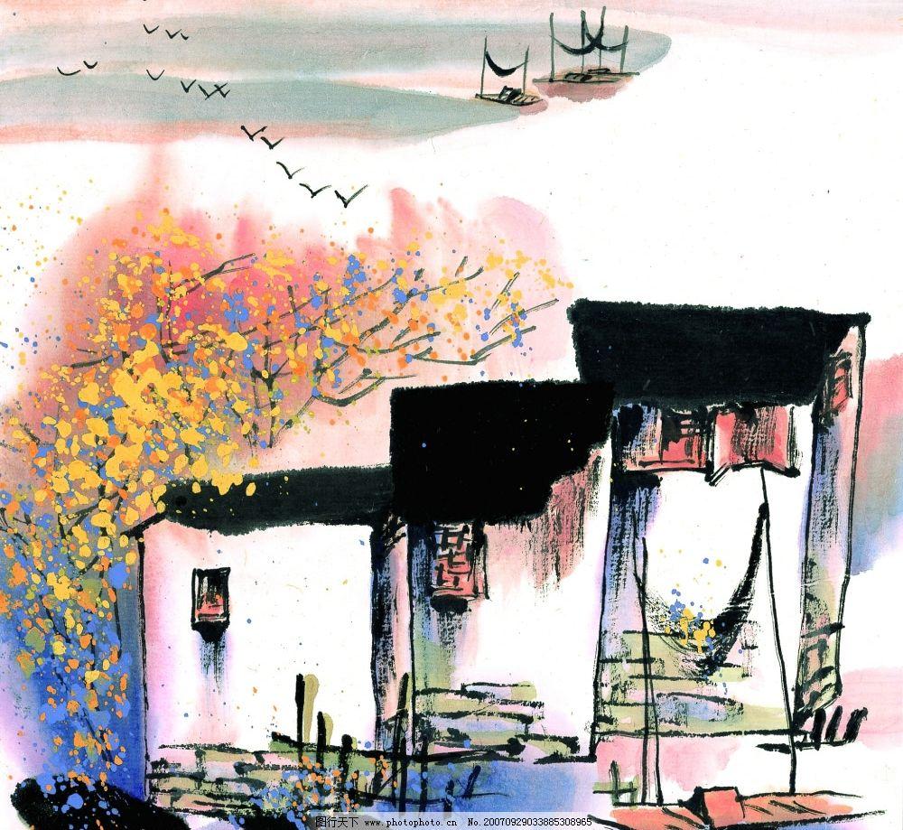 水墨风格——秋 水墨风格秋 图片素材 水墨风格之秋